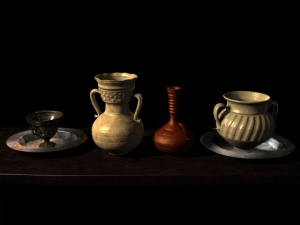 Still Life with Pottery Jars(3d)